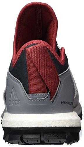 adidas Response Tr W, Zapatos de Senderismo Mujer Gris (Grimed/ftwbla/griosc)