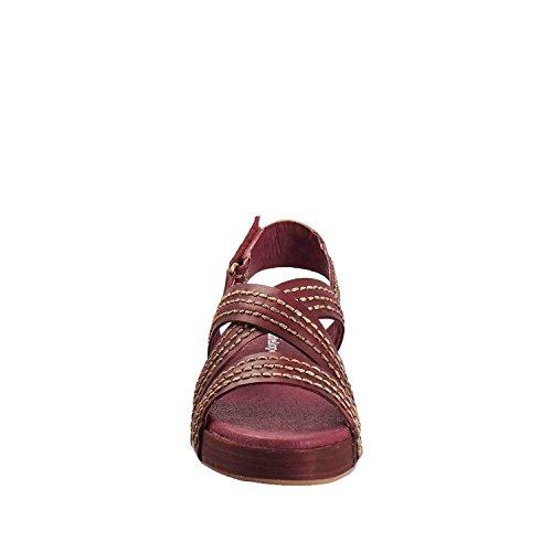Antelope Womens 201 Leather Triple Stitch Sandals Bordeaux E9uxZV