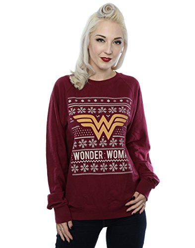 DC Comics Wonder Woman Christmas Sweatshirt