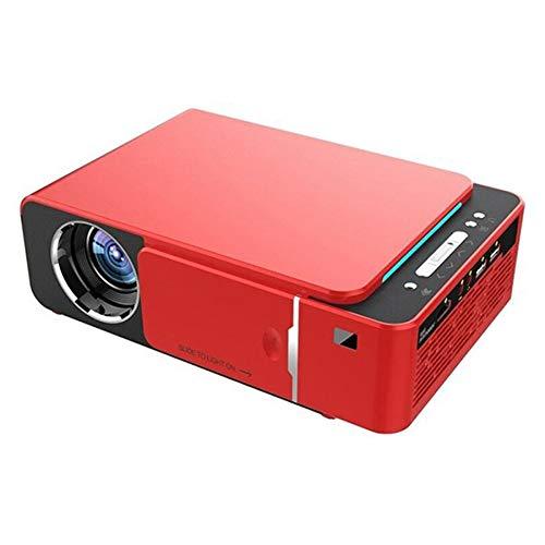 Shumo T6 1280X720P Proyector de Cine en Casa HDMI HD LED Proyector ...