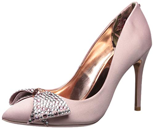 Ted Baker Women's Aselly Pump, Pink Blossom, 7 Regular US (Print Dress Ted Baker)