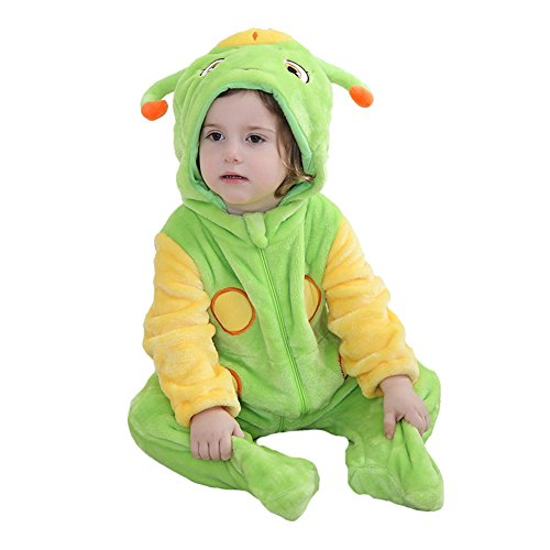 Tonwhar Green Worm Adorable Costume to Make