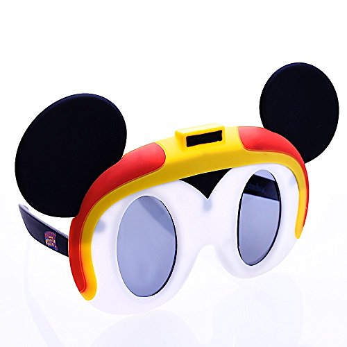 Sun-Staches Costume Sunglasses Lil' Characters Mickey and The Roadsters Party Favors UV400 for $<!--$13.95-->
