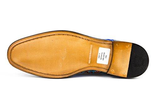 MELVIN & HAMILTON Herren Eddy 11 Halbschuhe Schnürer Blau Gr. 42