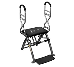18a34ac41f540 Amazon.com   Life s A Beach Pilates PRO Chair Max with Sculpting Handles +  Shape Transform   Reform + Total Gym Home Workout + Adjustable Resistance  Levels ...