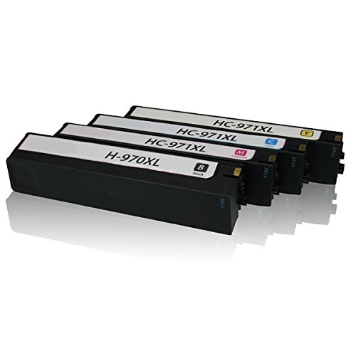 HOTCOLOR Remanufactured Inkjet Cartridges For HP 970XL & ...