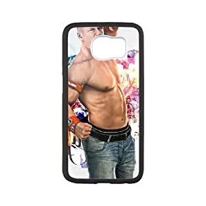 Personalized Durable Cases Samsung Galaxy S6 White Phone Case Njasb John Cena Protection Cover