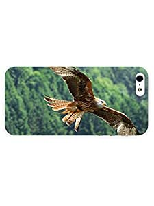 3d Full Wrap Case for iPhone 5/5s Animal Flying Eagle74