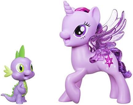 Hasbro My Little Pony C0718100 - Movie Prinzessin Twilight Sparkle und Spike, der Drache Singendes Duo, Spielset