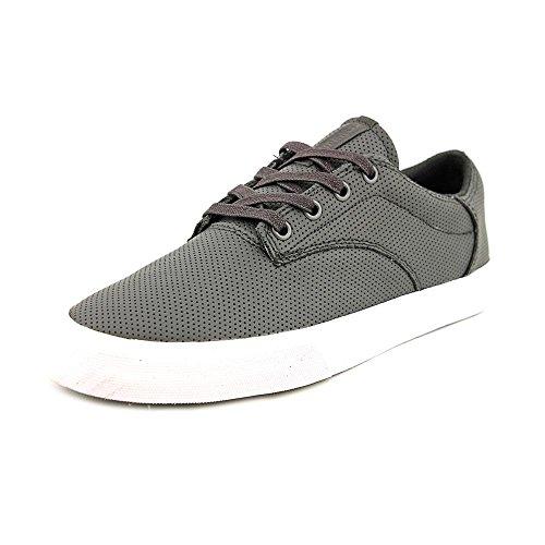 SUPRA Skate Shoes PISTOL BLACK-WHITE Sz 13