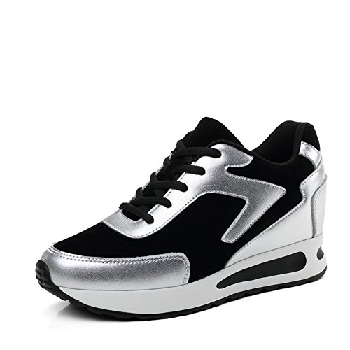 Primavera Zapatos De Altura-alargando/Zapatos De Suela Espesa/Zapatos Plano Casuales/Corea Mayor Zapatos De Los Deportes C