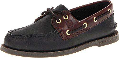 (Sperry Men's 191486 Boat Shoe, Black Amaretto, 15 M US)