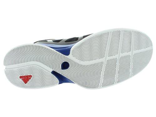 Adidas Ombra Pazzo Scarpe Da Basket - Black1 / Runwht / Blusld (uomini) Black1 / Runwht / Blusld