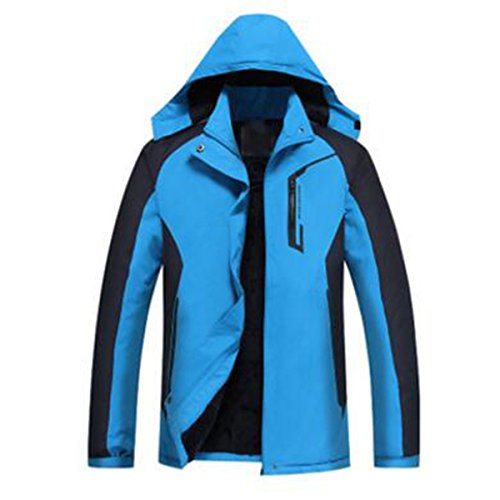 Donna Cotone Blue Aperta Giacche Wear In Capispalla Sport All'aria Lai Mountain Wu wfTpEE