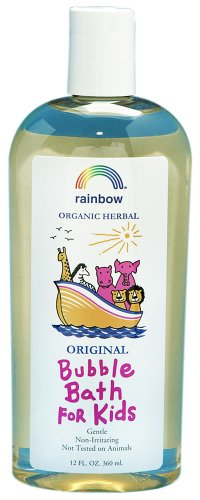 Rainbow Research Organic Herbal Bubble Bath For Kids Original by Rainbow Research