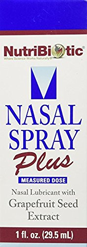 NUTRIBIOTIC Nasal Spray Plus, 1 oz. - Pack of 5