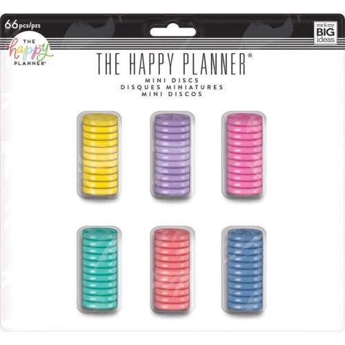Happy Planner Mini Disc Value Pack 66/Pkg-Multi Color