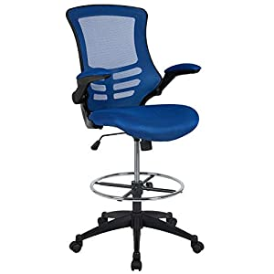 Flash Furniture High Back Office Chair | High Back Mesh Executive Office and Desk Chair with Wheels and Adjustable Headrest, BIFMA Certified