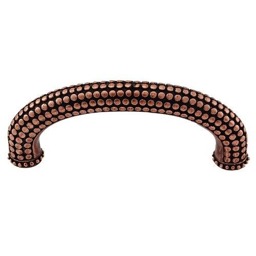 Vicenza Designs K1155 Tiziano  Half-Cylindrical  Pull 3-Inch Antique Copper