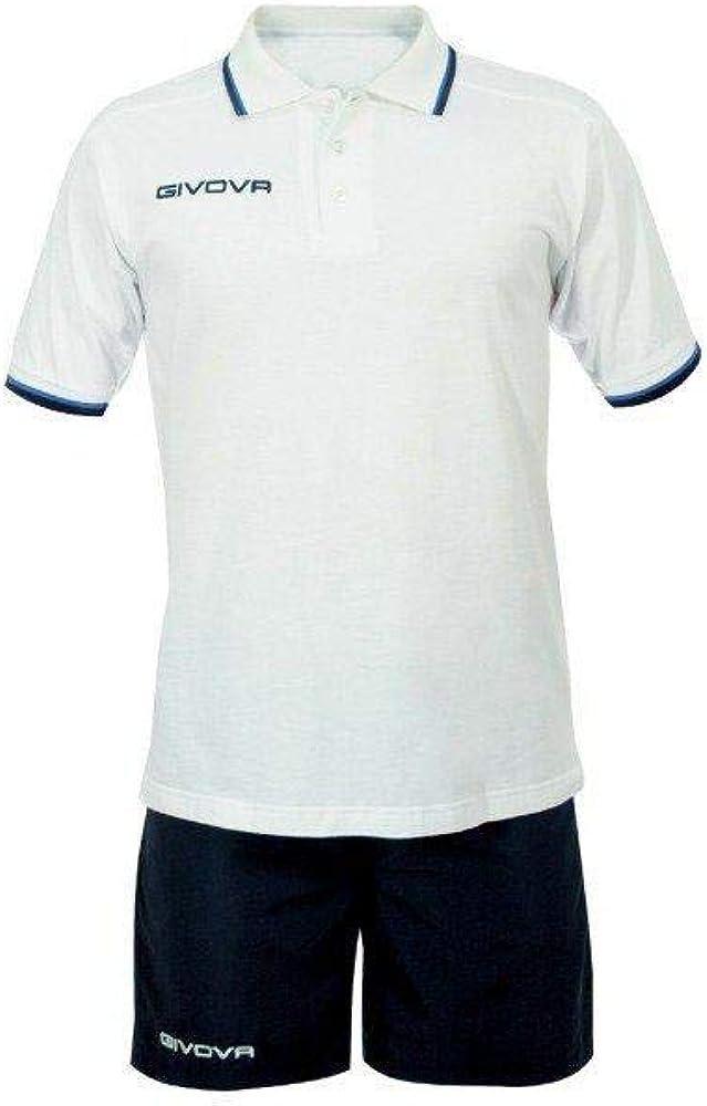 TALLA M. givova kit032, Camiseta y Pantalón Corto De Fútbol Unisex Adulto