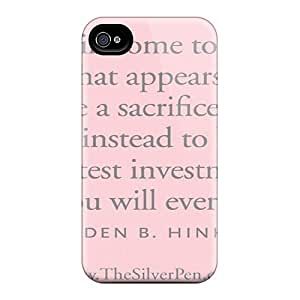 Fashionable Style Case Cover Skin For Iphone 4/4s- Gordon B Hinckley