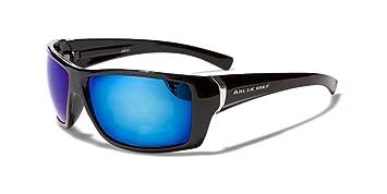 Arctic Blue Gafas de Sol - Gafas Unisex para Ciclismo / Deporte / Esqui / Correr - UV400 (UVA y UVB) con cristales Bluetech