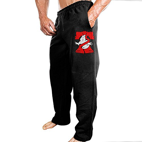 Dena-J Men Funny Ghostbusters Hip-Hop Casual Style Sweatpants Casual Style 3X (Ghostbusters Couples Costumes)