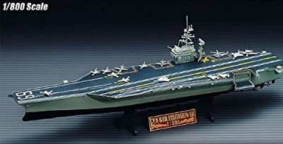 U.S.S. EISENHOWER CVN69 Academy NIB BA902 14212 CVN-69 Aircraft carrier 1/800+ WORLDWIDE FREE SHIPPING