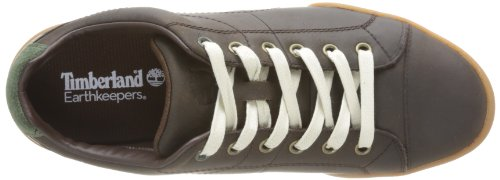Timberland Trainers Toe Earthkeepers Cup Dark Sole Leather Brown Split Men's 1Xw1qZ0r6