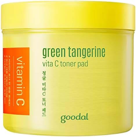Goodal Green Tangerine Vita C Toner Pad One Size Yellow