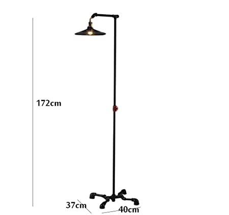 Amazon.com: Floor lamp European-Style loft Industrial Style ...