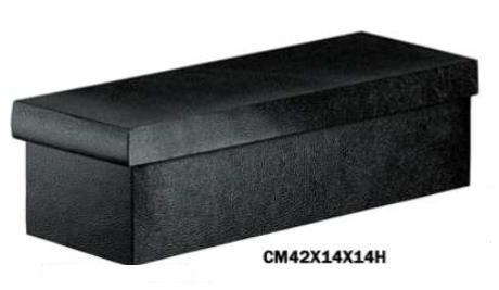 Boîtes vins de 1bouteille Magnum carton gaufré brillant noir en RZ de 10pièces beautycart C33745
