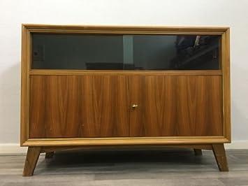 Retro 50er 60er Kommode Lowboard Tv Board Phono Urban Skandinavisch