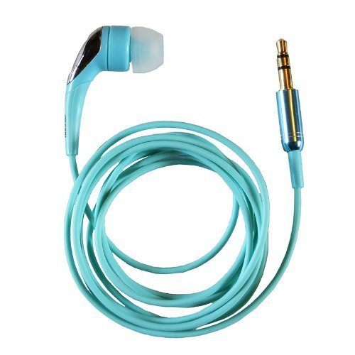 Turquoise 1-BUD-Pro w/ zippered case and 3 sizes of eartips Photo #1