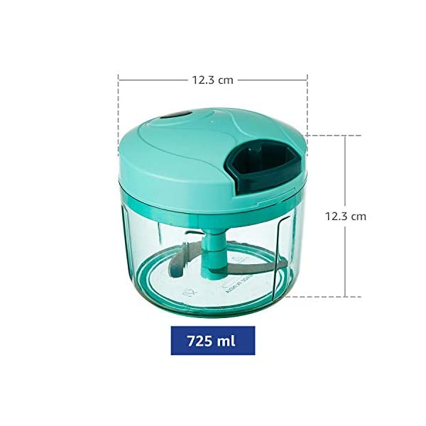Amazon Brand Vegetable Chopper (Large, 725 ml)