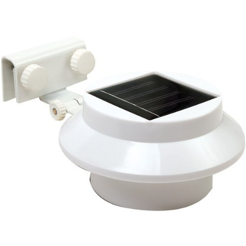 Rethink 155005 Multi-Purpose Gutter/Fence Solar Light, 2-Pack