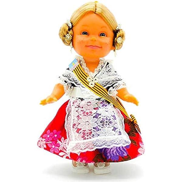 Amazon.es: Folk Artesanía Muñeca Lara artesana de 32 cm con ...