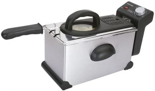 Mx MX-FR2127 Freidora eléctrica, 2300 W, 3 litros, Acero ...