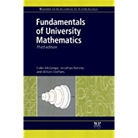 Fundamentals of University Mathematics (Woodhead Publishing in Mathematics) (English Edition)