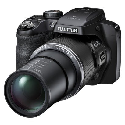 Fujifilm FinePix 16.2MP Digital Camera with 42x Optical Zoom (S8300)