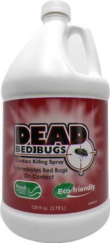 Dead Bed Bugs Contact Killing Spray, Safe - Non-Toxic Bed Bug Killer -1 Gallon(3.78Litres/128Fl Oz)