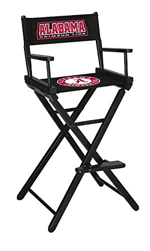 Imperial Officially Licensed NCAA Merchandise: Directors Chair (Tall, Bar  Height), Alabama