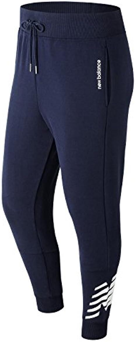 New Balance MP81507, Pantalones Deportivos para Hombre, Azul ...