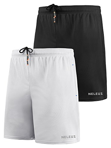 fbd7284f3df Neleus Men's Lightweight Workout Running Athletic Shorts with Pockets –  Fitness Gear Store