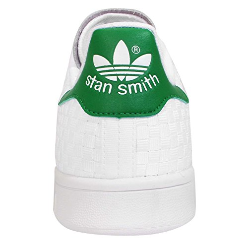 Adidas Stan Smith Heren Sneaker Wit Wit Groen S77267