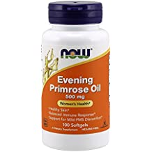 NOW Evening Primrose Oil 500 mg,100 Softgels