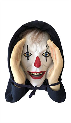 Scary Halloween Mask Cut Out - New Scary Peeper