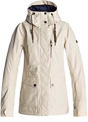 Roxy Snow Junior's Andie Snow Jacket, Angora, (Angora Blend Coat)