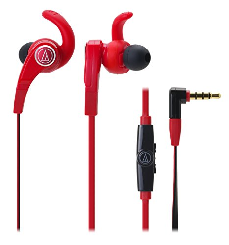 Audio Technica SonicFuel smartphone Earbuds Red ATH-CKX7iS RD (Japan Import)