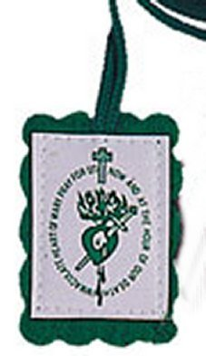 (Green Scapular & Leaflet Among Mary's)